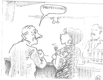 Cartoon persoonlijke ontwikkeling